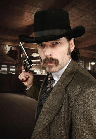 Tim Rozon is Doc Holliday