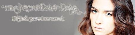 Melanie Scrofano fan site header
