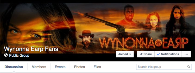 Wynonna Earp Fans Facebook Group