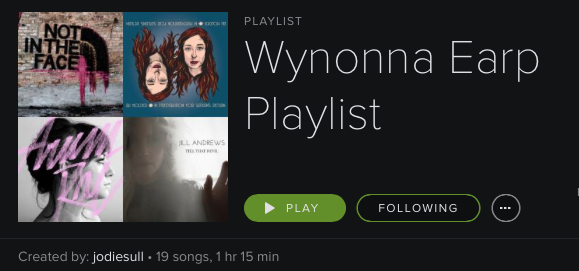 Wynonna Earp Spotify Playlist