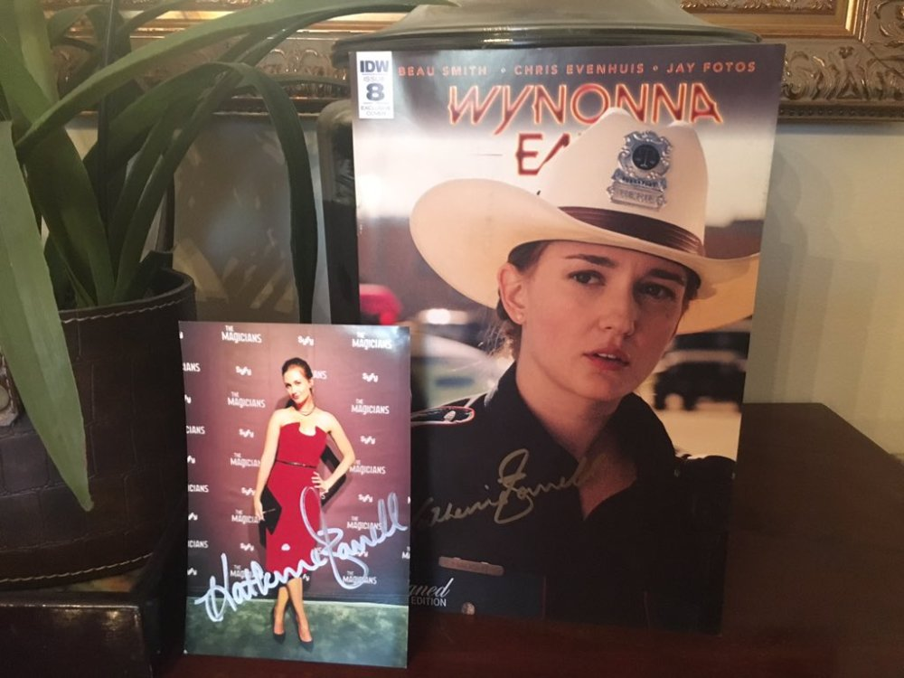 Kat Barrell prize pack